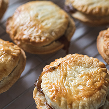 Mini Beef Stew Pies