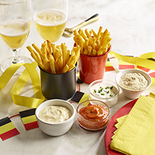 Dipping Sauces for Frites
