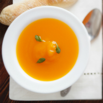 Butternut Squash and Coriander Soup
