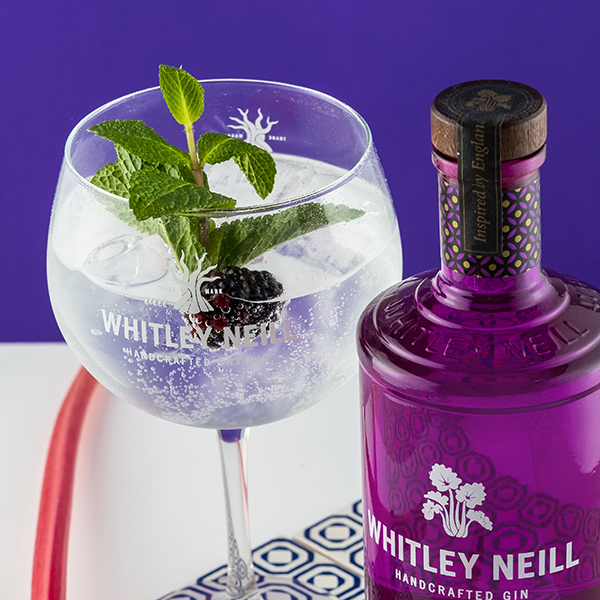 Whitley Neill Ginger and Rhubarb Gin and Tonic